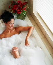 kąpiel aromaterapeutyczna