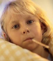 dziecko termometr temperatura choroba